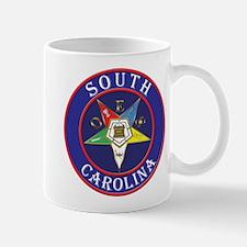 South Carolina OES in a circle Mug