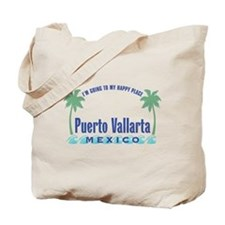 Puerto Vallarta Happy Place - Tote or Beach Bag