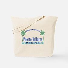 Puerto Vallarta Happy Place - Tote or Beach Bag