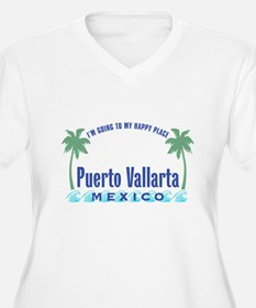 Puerto Vallarta Happy Place - T-Shirt