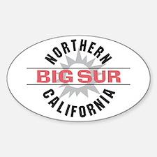 Big Sur California Oval Decal
