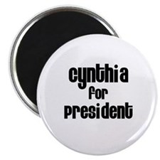 Cynthia for President Magnet