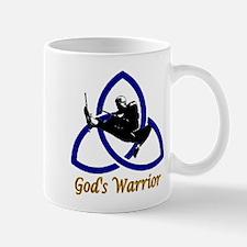 God's Warriors blue Mug