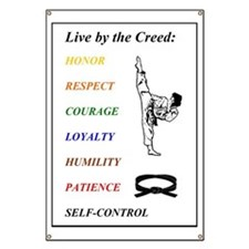 Live by the Creed Banner