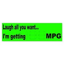 Laugh all you want... Bumper Sticker (10 pk)
