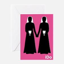 """""""I Do"""" Brides Pink Card"""