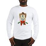 Masonic Holiday Lantern Long Sleeve T-Shirt