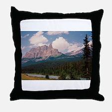Cute Bow river Throw Pillow