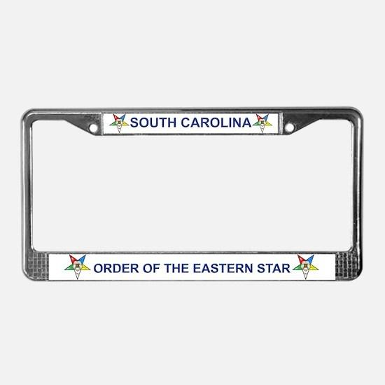 South Carolina OES License Plate Frame