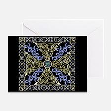 Celtic Knot Cross Greeting Card