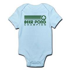 Irish Beer Pong Infant Bodysuit