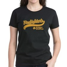 Irish Firefighter's Girl Tee