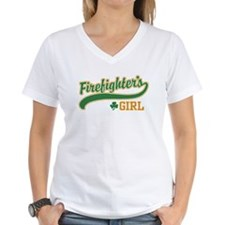 Irish Firefighter's Girl Shirt