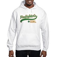 Irish Firefighter's Girl Hoodie