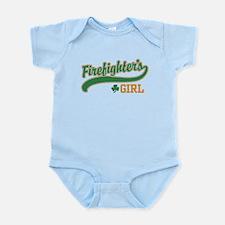Irish Firefighter's Girl Infant Bodysuit