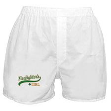 Irish Firefighter's Girl Boxer Shorts