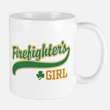 Irish Firefighter's Girl Mug