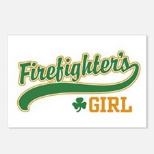 Irish Firefighter's Girl Postcards (Package of 8)
