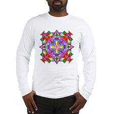 Tibetan Mandala Color 1 Long Sleeve T-Shirt