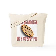 Wake Me And Feed Me A Ch... Tote Bag