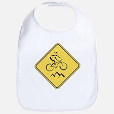 Caution: Mountain Biker Bib