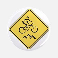 "Caution: Mountain Biker 3.5"" Button"