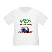 Train First Birthday T