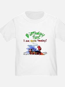 Train First Birthday T