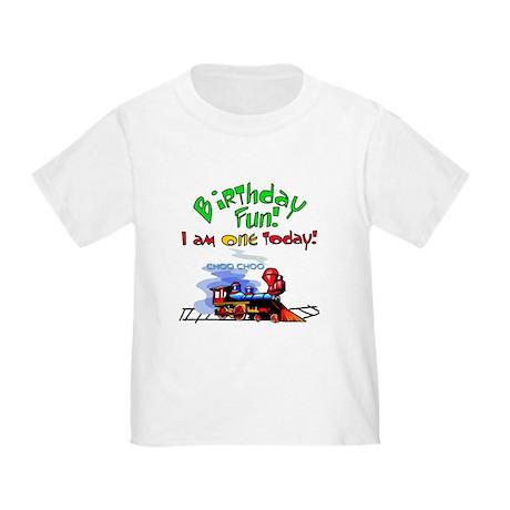 Train First Birthday Toddler T-Shirt