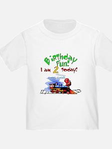 Train 2nd Birthday T