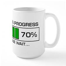 Poop In Progress Mug