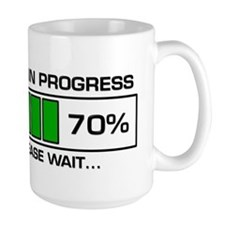Poop In Progress Mug