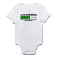 Poop In Progress Infant Bodysuit