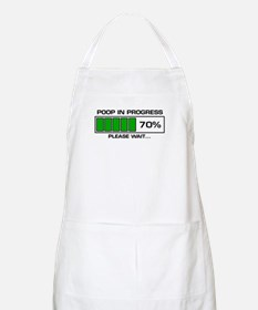 Poop In Progress BBQ Apron