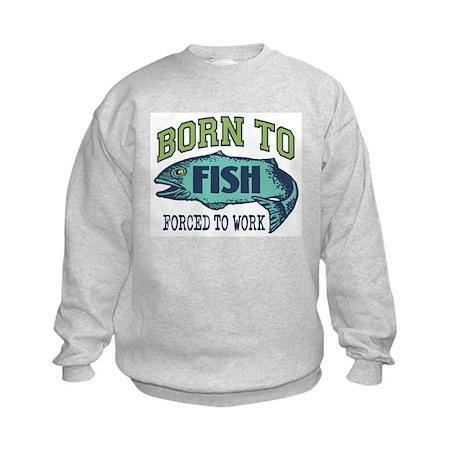 Fishing Kids Sweatshirt