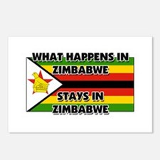 What Happens In ZIMBABWE Stays There Postcards (Pa