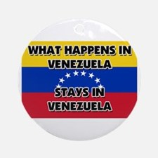 What Happens In VENEZUELA Stays There Ornament (Ro