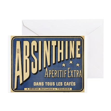 Absinthine Greeting Cards (Pk of 10)