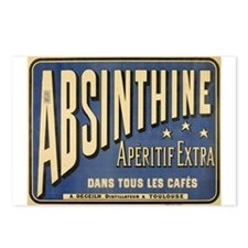 Absinthine Postcards (Package of 8)