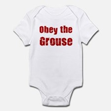 Obey the Grouse Infant Bodysuit
