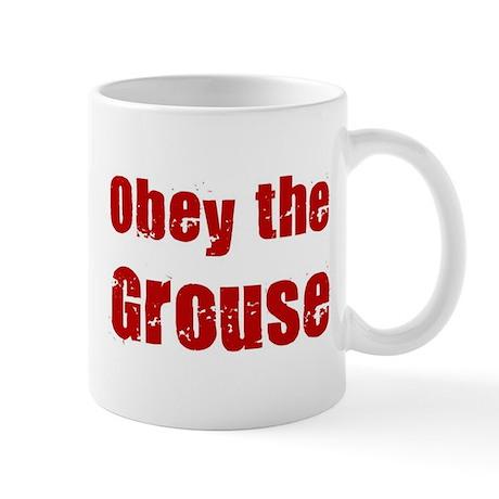 Obey the Grouse Mug
