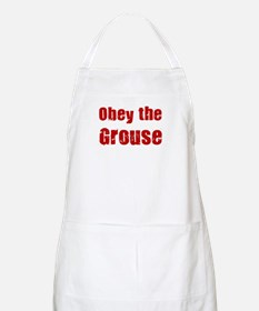 Obey the Grouse BBQ Apron