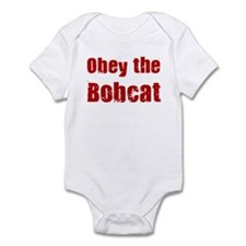 Obey the Bobcat Infant Bodysuit