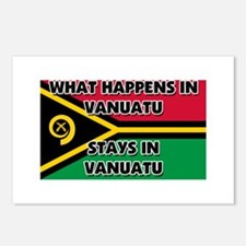What Happens In VANUATU Stays There Postcards (Pac