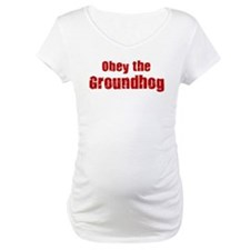 Obey the Groundhog Shirt