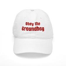Obey the Groundhog Baseball Cap