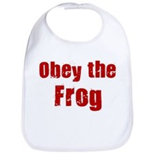 Obey the Frog Bib