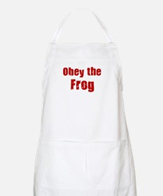 Obey the Frog BBQ Apron