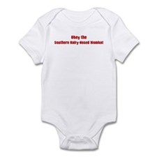 Obey the Southern Hairy-Nosed Infant Bodysuit