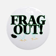 Frag Out Ornament (Round)
